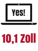 10,1 Zoll